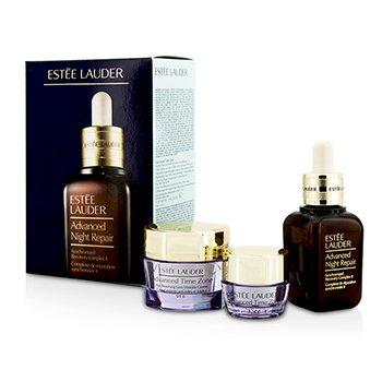 Estee Lauder Anti-Wrinkle Set: Advanced Night Repair 30ml/1oz + Advanced Time Zone SPF 15 15ml/0.5oz + Advanced Time Zone Eye 5ml/0.17oz  3pcs
