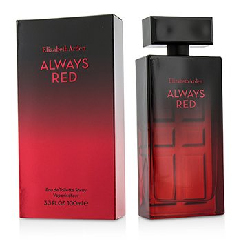 Elizabeth Arden Always Red Eau De Toilette Spray 100ml/3.3oz