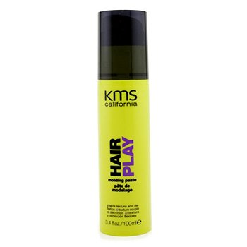 KMS CaliforniaHair Play Molding Paste (Pliable Texture & Definition) 100ml/3.4oz