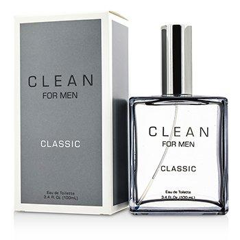 CleanClean For Men Classic Eau De Toilette Spray 100ml/3.4oz