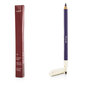 Clarins Long Lasting Eye Pencil with Brush - # 10 True Violet 1.05g/0.037oz