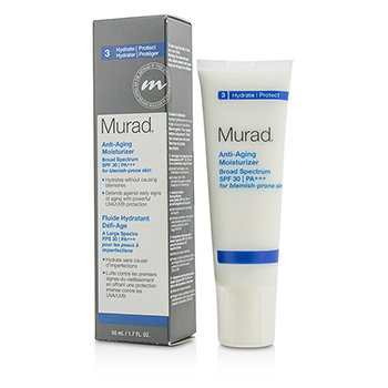 Murad Anti Aging Moisturizer SPF30 PA+++ - For Blemish-Prone Skin  50ml/1.7oz