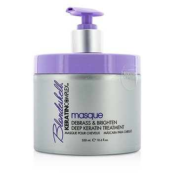 Keratin Complex Blondeshell Masque (Debrass & Brighten Deep Keratin Treatment)  550ml/18.6oz