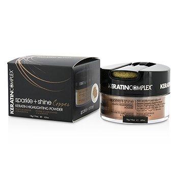 Keratin Complex Fashion Therapy Sparkle + Shine Keratin Highlighting Powder - # Copper  19ml/0.63oz