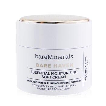 BareMinerals Bare Haven Essential Moisturizing Soft Cream - Normal To Dry Skin Types 50g/1.7oz