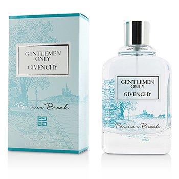 Givenchy Gentlemen Only Parisian Break Eau De Toilette Fraiche Spray (Limited Edition)  100ml/3.3oz