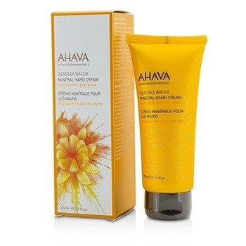 Ahava Deadsea Water Mineral Hand Cream - Mandarin & Cedarwood  100ml/3.4oz
