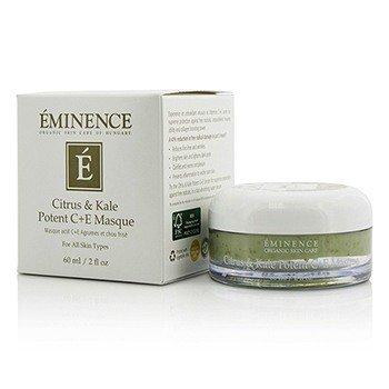 Eminence Citrus & Kale Potent C+E Masque - For All Skin Types  60ml/2oz