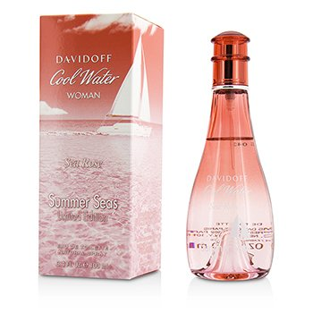 Davidoff Cool Water Sea Rose Summer Seas Eau De Toilette Spray (Limited Edition)  100ml/3.4oz