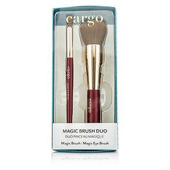CargoMagic Brush Duo: 1x Magic Brush, 1x Magic Eye Brush 2pcs