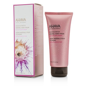 Ahava Deadsea Water Mineral Hand Cream - Cactus & Pink Pepper 100ml/3.4oz