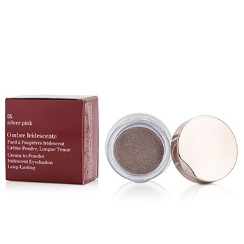Clarins Ombre Iridescente Cream To Powder Iridescent Eyeshadow - #05 Sliver Pink  7g/0.2oz