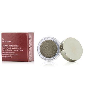 Clarins Cie� do powiek Ombre Iridescente Cream To Powder Iridescent Eyeshadow - #06 Sliver Green  7g/0.2oz