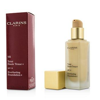 Купить Everlasting Основа+ SPF15 - # 105 Nude 30ml/1.1oz, Clarins