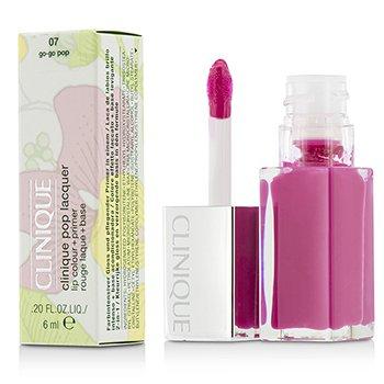 Clinique 6ml/0.2oz Pop Lacquer Lip Colour + Primer  - # 07 Go-Go Pop 6ml/0.2oz