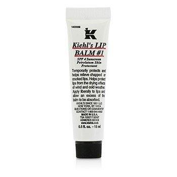 Kiehl's Lip Balm # 1 Tube (SPF 4 Sunscreen Petrolatum Lip Protectant)  15ml/0.5oz