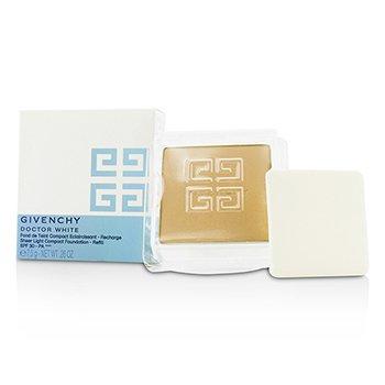 Givenchy Wk�ad do podk�adu Doctor White Sheer Light Compact Foundation SPF 30 Refill - # 3 Beige Light  7.5g/0.26oz
