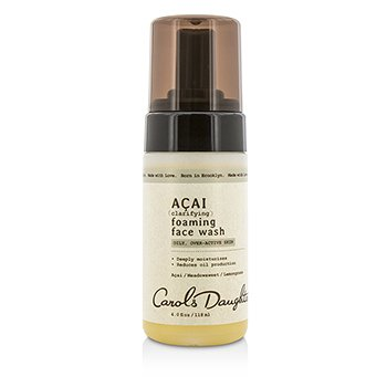 Carol's Daughter Acai Clarifying Foaming Face Wash  118ml/4oz