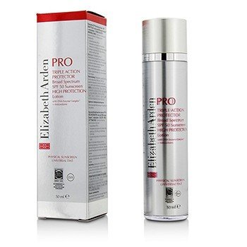 Elizabeth Arden PRO Triple Action Protector High Protection Lotion SPF50 - Universal Tint (Exp. Date 04/2017)  50ml/1.7oz