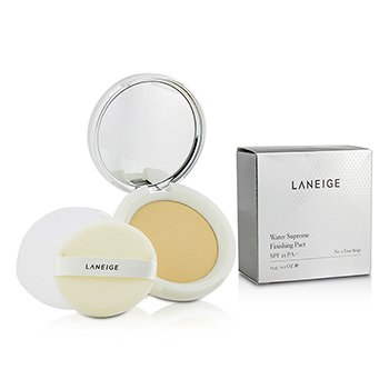 Laneige Water Supreme Finishing Pact SPF25 - # No. 3 True Beige  15g/0.5oz