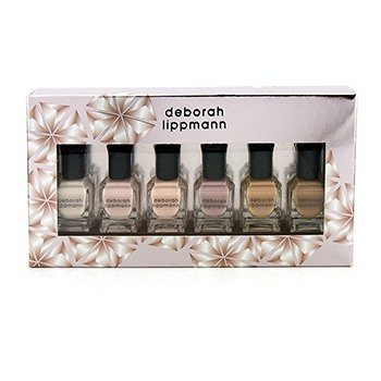 Deborah Lippmann Undressed Shades Of Nude Nail Lacquer Set: 6x Nail Lacquer (Flesh For Fantasy  Totally Nude  Born This Way  Bare It All  Natural Woman  Skin Deep) 6x8ml/0.27oz