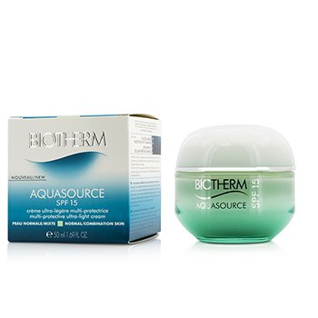 Biotherm Aquasource Multi-Protective Ultra-Light Cream SPF 15 - For Normal/Combination Skin 50ml/1.69oz