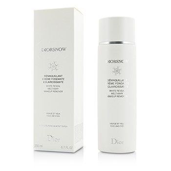 Christian Dior DiorSnow White Reveal Melt-Away Makeup Remover - For Face & Eyes 200ml/6.7oz