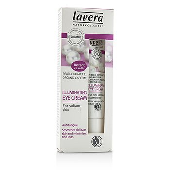 Lavera Organic Pearl Extract & Caffeine Осветляющий Крем для Век 15ml/0.5oz