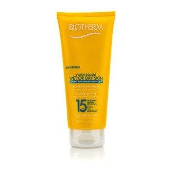 Купить Fluide Solaire Солнцезащитный Флюид для Сухой или Влажной Кожи SPF 15 для Лица и Тела - Водостойкий 200ml/6.76oz, Biotherm
