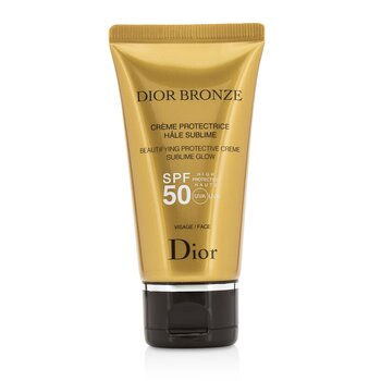 Купить Dior Bronze Совершенствующий Защитный Крем с Нежным Сиянием SPF 50 для Лица 50ml/1.8oz, Christian Dior