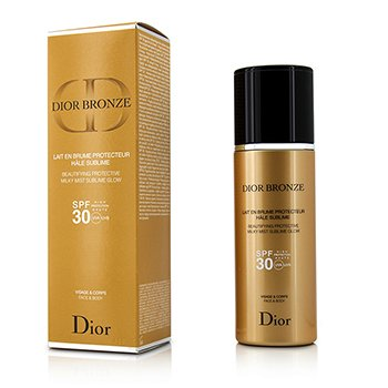 Christian Dior Dior Bronze Beautifying Protective Milky Mist Sublime Glow SPF 30 Para Rostro & Cuerpo  125ml/4.2oz