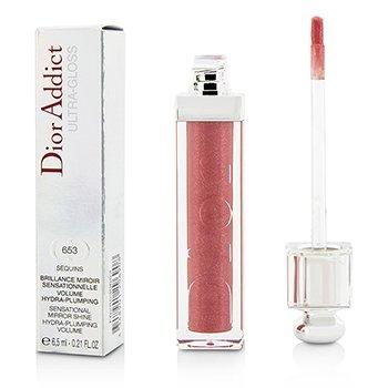 Christian Dior Dior Addict Ultra Gloss (Sensational Mirror Shine) - No. 653 Sequins  6.5ml/0.21oz