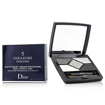 Christian Dior 5 Color Designer All In One Professional Eye Palette - No. 008 Smoky Design  5.7g/0.2oz