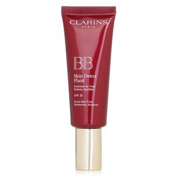 Clarins Podk�ad do twarzy z filtrem UV BB Skin Detox Fluid SPF 25 - #02 Medium  45ml/1.6oz