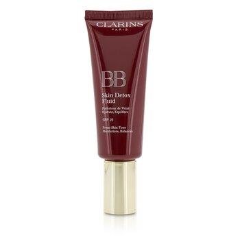 Clarins Podk�ad do twarzy z filtrem UV BB Skin Detox Fluid SPF 25 - #03 Dark  45ml/1.6oz