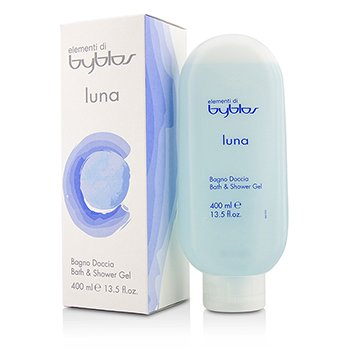 Byblos Luna Bath & Shower Gel  400ml/13.5oz