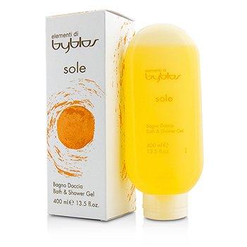 Byblos Sole Bath & Shower Gel  400ml/13.5oz