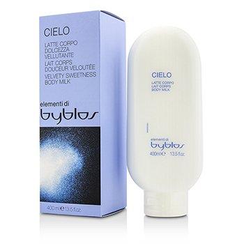 Byblos Cielo Velvety Sweetness Body Milk 400ml/13.5oz