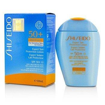 Shiseido Expert Sun Protection Lotion WetForce For Sensitive Skin & Children SPF 50+ UVA  100ml/3.3oz