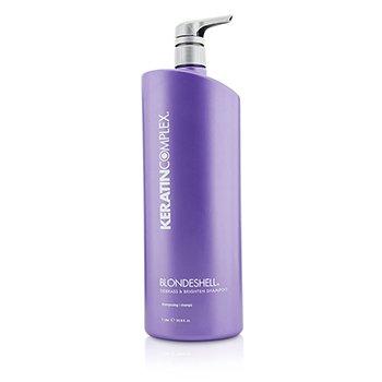 Keratin Complex Blondeshell Debrass & Brighten Shampoo (MFR: APR 2014)  1000ml/33.8oz