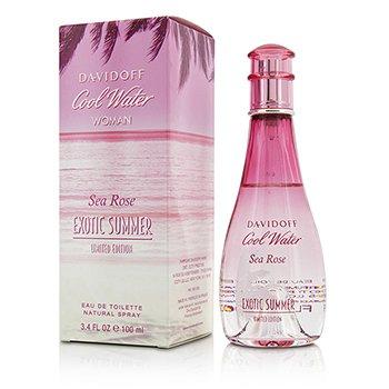 Davidoff Cool Water Sea Rose Exotic Summer Eau De Toilette Spray (Limited Edition)  100ml/3.4oz