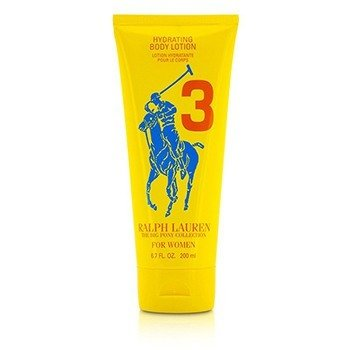 Ralph Lauren Big Pony Collection For Women #3 Yellow Hydrating Body Lotion (Unboxed) 200ml/6.7oz
