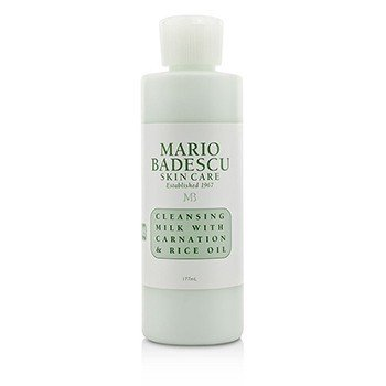 Mario Badescu Cleansing Milk With Carnation & Rice Oil - For Dry/ Sensitive Skin Types 177ml/6oz