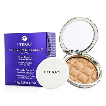 By TerryTerrybly Densiliss Compact (Wrinkle Control Pressed Powder) - # 3 Vanilla Sand 6.5g/0.23oz