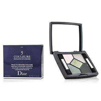 Christian Dior Kingdom of Colors 5 Couleurs Couture Colors & Effects Eyeshadow Palette (Limited Edition) - # 466 House of Greens  7.2g/0.25oz