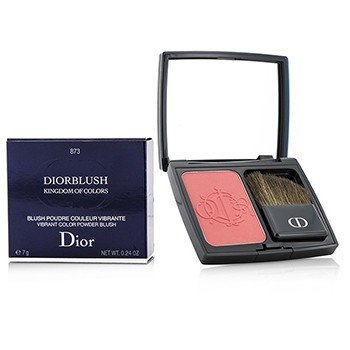Christian Dior Kingdom of Colors DiorBlush Vibrant Color Powder Blush (Limited Edition) - # 873 Cherry Glory  7g/0.24oz