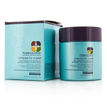 Pureology Strength Cure Restorative Masque (For Micro-Scarred/ Damaged Colour-Treated Hair)  150ml/5.2oz