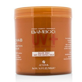 Alterna Bamboo Color Hold+ Color Protection Rehab Deep Hydration Masque (For Strong& Vibrant& Color