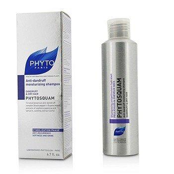 Phyto Phytosquam Anti-Dandruff Moisturizing Shampoo (Dandruff & Dry Hair)  200ml/6.7oz