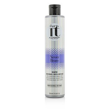 AlfaParf That's It Never Brass Shampoo (For Cool Blondes / White & Grey Hair)  250ml/8.45oz